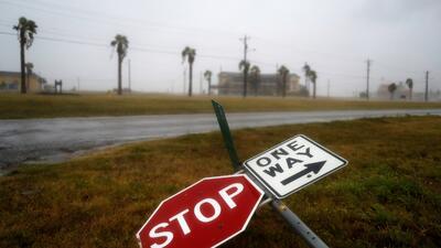 In photos: Hurricane Harvey batters the Texas coast