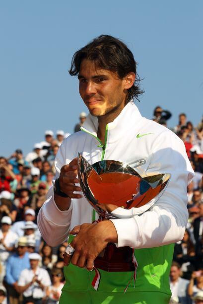 Con el título de Montecarlo, Nadal llegó a 44 conseguidos...
