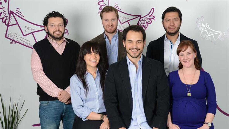 Integrantes de la empresa Kichnik.
