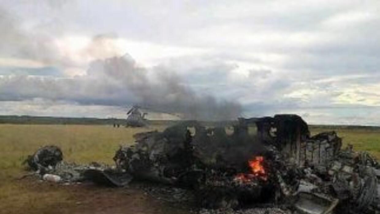 El avión con matrícula mexicana fue obligado a aterrizar en Venezuela y...