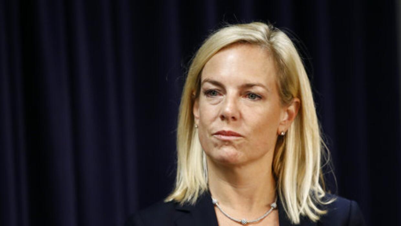 La nueva secretaria de Seguridad Nacional, Kirstjen Nielsen, está...
