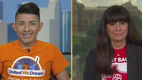 ¿Qué hacen los dreamers y activistas para luchar en contra de la ley SB4?