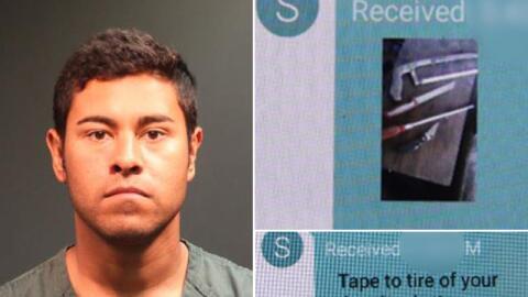 Robert Núñez fue detenido por presuntamente haber organiza...