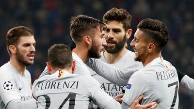 En fotos: Roma le ganó al CSKA en Moscú y dio un paso grande hacia la siguiente ronda