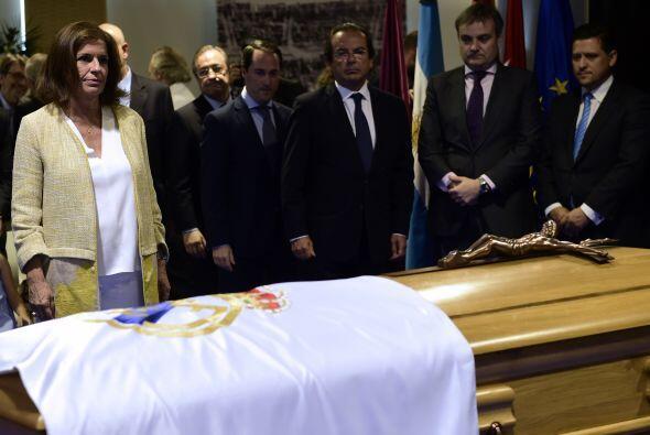 La alcaldesa de Madrid, Ana Botella, también estuvo presente.