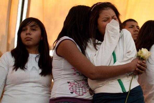 Los jóvenes fueron acribillados por el grupo autodenominado 'La Línea'....