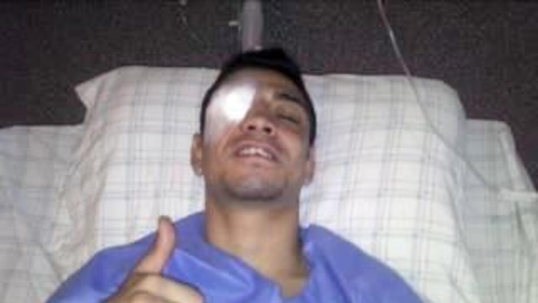 Arce salió bien de la operación (Foto tomada de facebook)