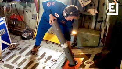 Estas no son bombas. Son termómetros de NASA para medir las tempe...