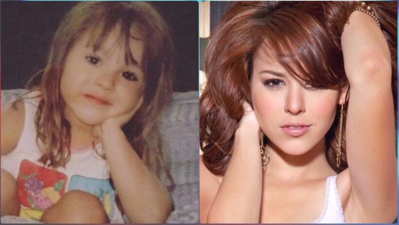 Danna Paola y su increíble cambio a través de los años