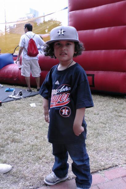 Definitivamente tiene cara de futuro jugador de la MLB.