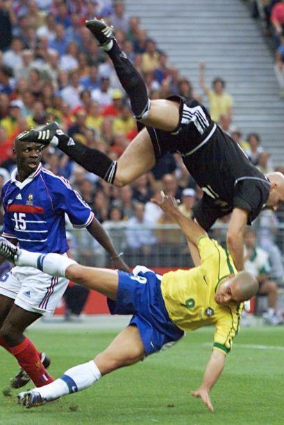 La famosa final ante Francia en el Mundial 1998. En las horas previas al...