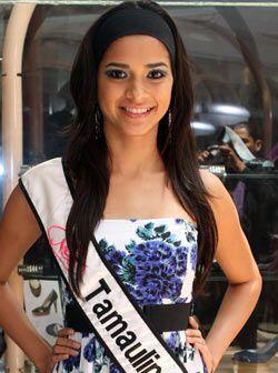 Nuestra Belleza Tamaulipas, Ana Karen Abdala, nació hace 20 años en Nuev...