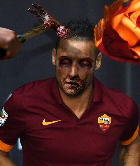 Francesco Totti, eterno capitán de la Roma y gran figura con Italia.