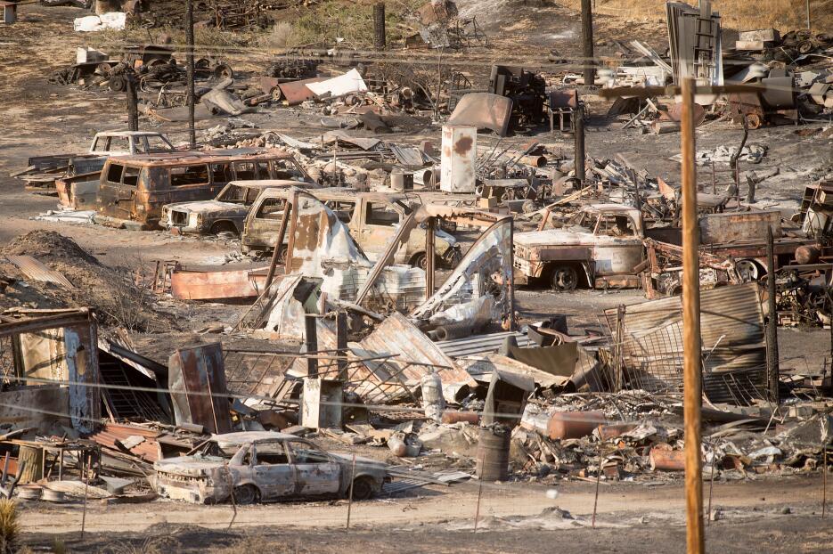 El fuego provocó la evacuación de más de 82,000 personas.