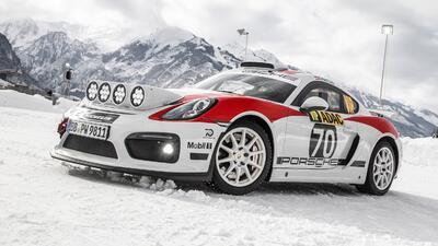 Después de negarlo repetidas veces Porsche decidió construir el Cayman GT4 Rallye Car Concept