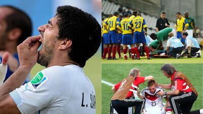 Entrevistas, mordidas, muerte y más hechos insólitos durante partidos de fútbol
