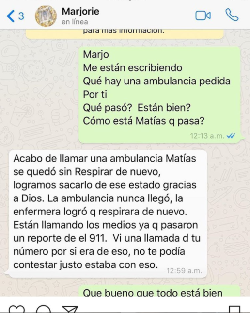 Aquí están los chats que Julián Gil borró de su Instagram Captura de pan...