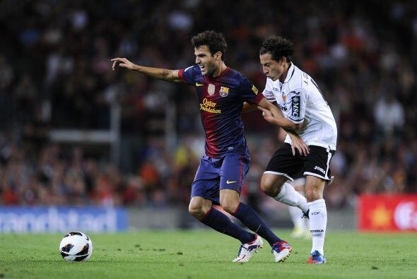 Andrés Guardado disputó 76 minutos con Valencia, que no pudo contrarrest...