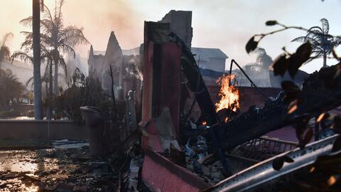 Gobierno declara desastre natural en California: 21 muertos y más de 3,5...