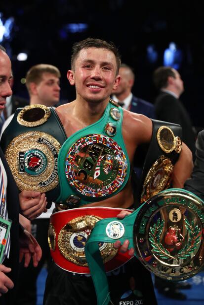 El kazajo se quedó con el triunfo ante un 'Miracle Man' que brin...