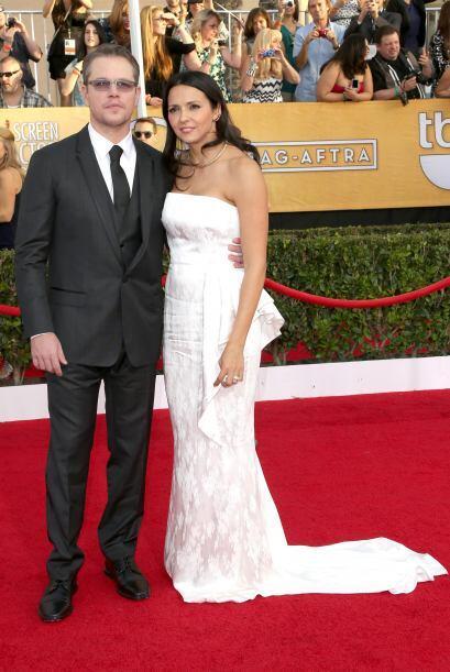 Matt Damon y Luciana Barroso también fue una de las parejas que se llevó...