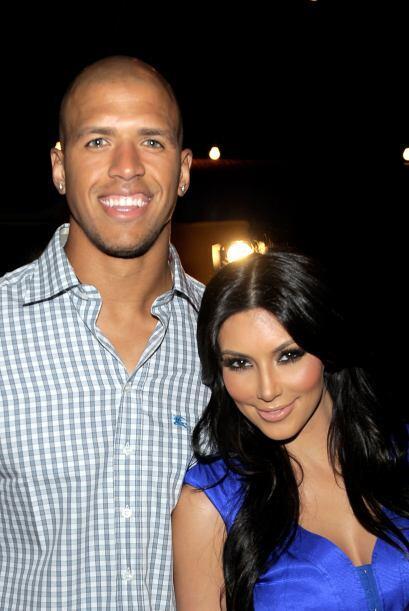 Kardashian inició una breve relación con el receptor de lo...