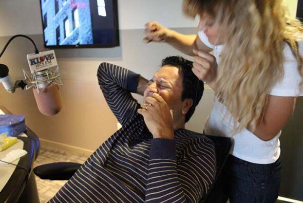 Primer impacto del hilo sobre la piel, ¡OUCH!