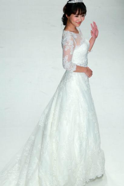 La caída en los vestidos en algunos modelos es muy tradicional pero las...