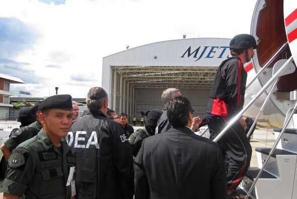 El ex piloto había sido detenido en Bangkok en marzo del 2008, después d...