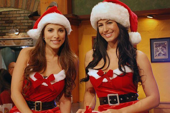 Nuestras Senadoras ya están con el espíritu navideñ...