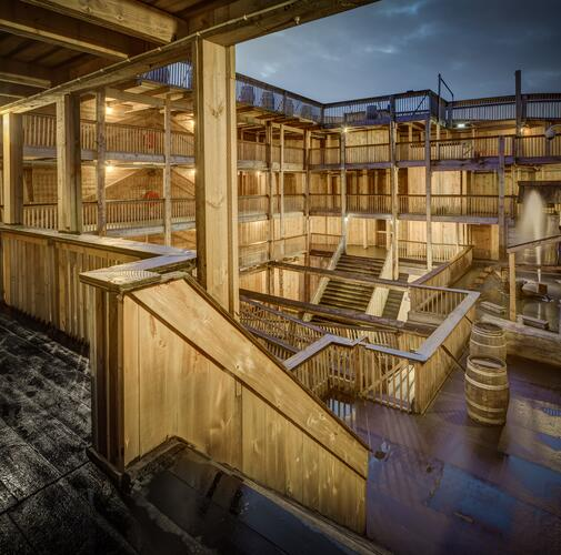 Interiores de madera.