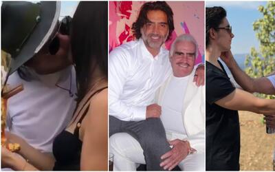Mensajes al Potrillo de su papá y su hijo por su cumpleaños 47