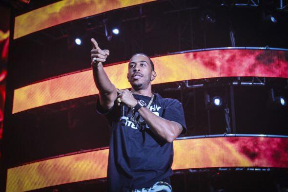 """""""This is Ludacris!"""" en el Uforia Music Festival."""