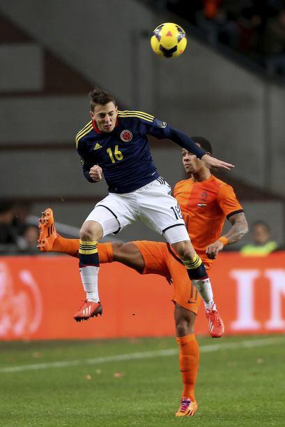 En el amistoso ante Bélgica fue considerado uno de los mejores jugadores...