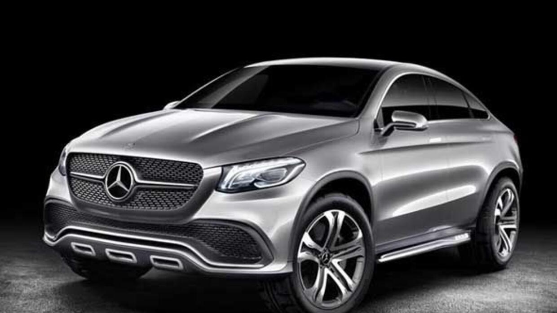 Mercedes está preparando algo para competir con la BMW X6.