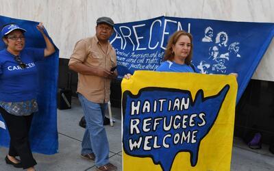 Inmigrantes piden al gobierno no cancelar el TPS de Haití