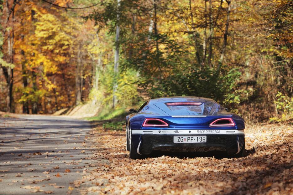 Imágenes del Rimac Concept_One, el auto eléctrico más rápido del 2016 wa...