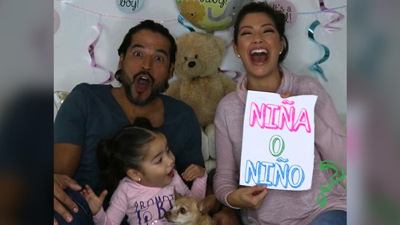 Ana Patricia y su familia