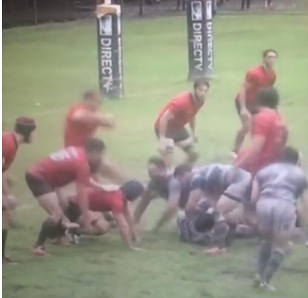 En el Rugby, el argentino Cipriano Martínez fue castigado con 29...