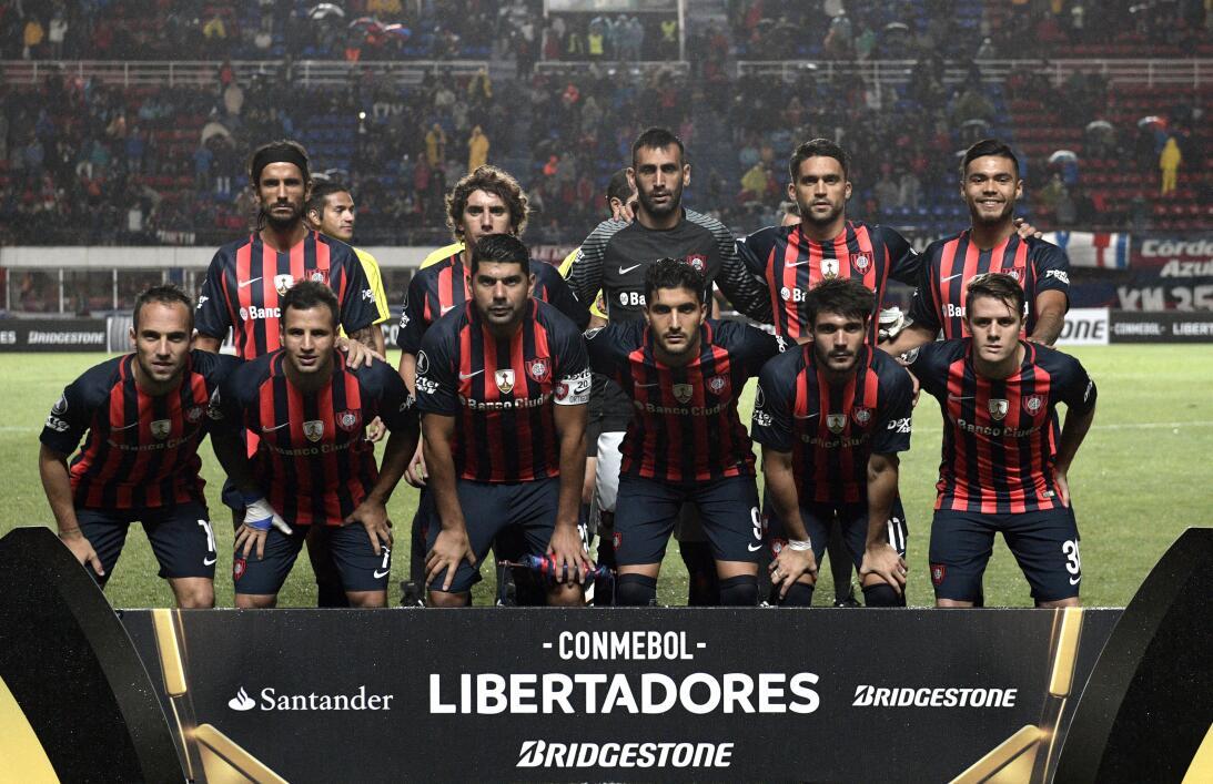 18. San Lorenzo (Argentina - Conmebol) / 199 puntos