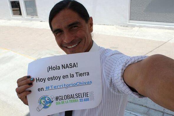 Con esta #GlobalSelfie es como Francisco Palencia, director deportivo de...