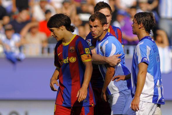 Los jugadores del Málaga se enojaron con el delantero 'culé' porque pens...