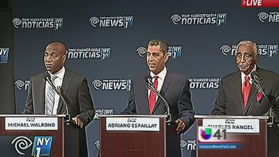 Debaten candidatos al congreso federal