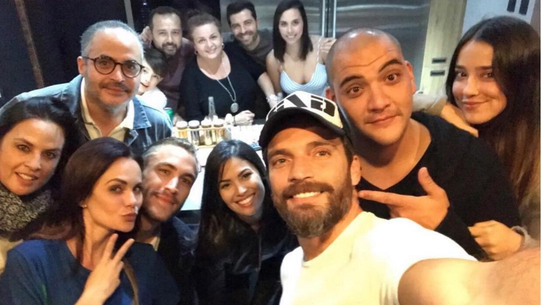 Con una fiesta de cumpleaños, así despidió Julián Gil el viaje a México...