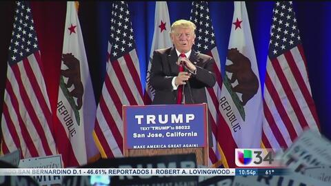 Trump llama a partidarios de Sanders a votar por él