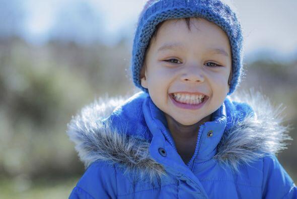 Un abrigo aislante. Para que tus niños puedan jugar en la nieve s...