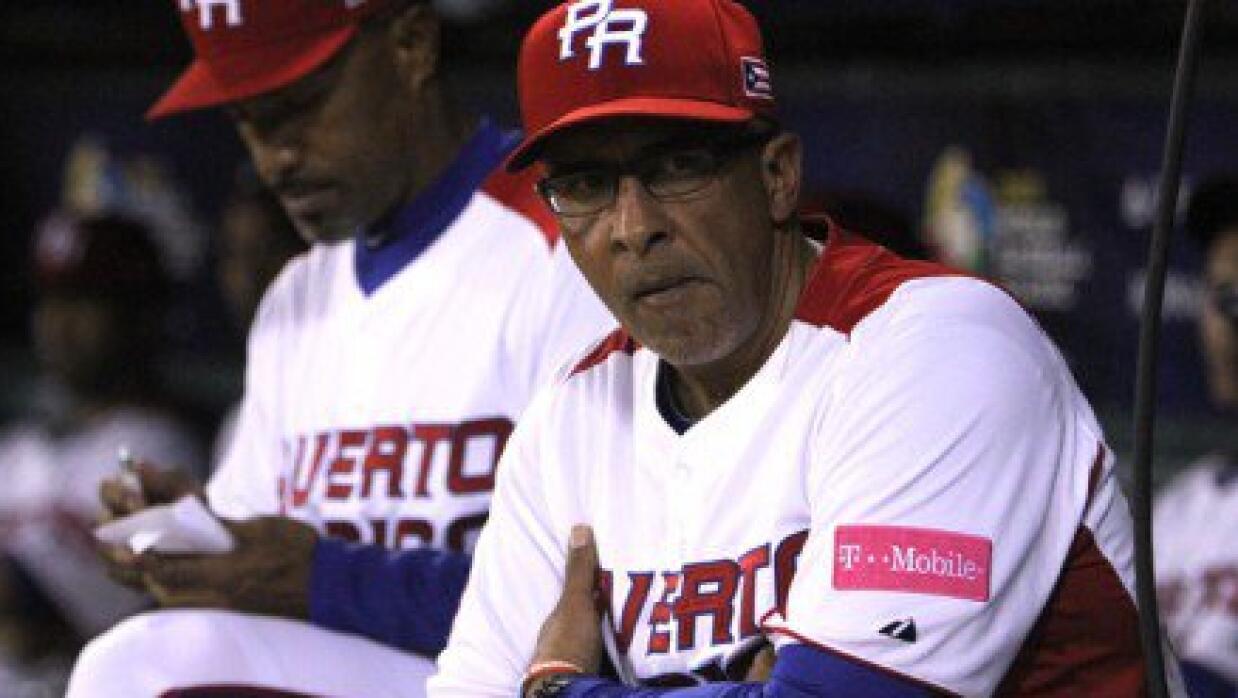 Dirigente de la selección nacional de béisbol de Puerto Ri...