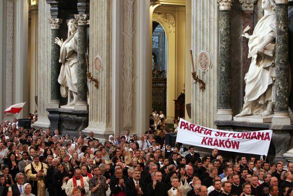 El tiempo para estos procesos del Vaticano son más de cinco a&nti...