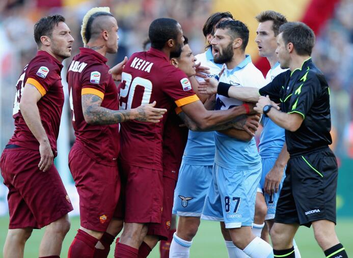 El 'Derby della Capitale' es el enfrentamiento entre los dos equ...