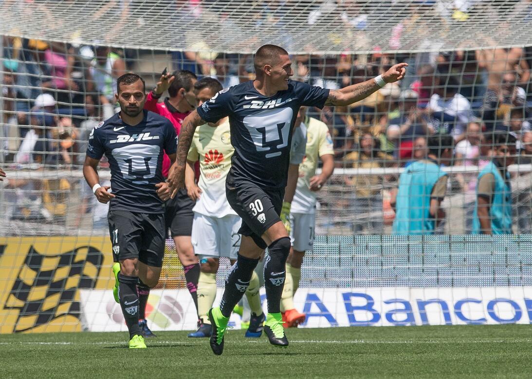 América sufrió, pero al final derrotó 3-2 a los Pumas en CU 021 Castillo...